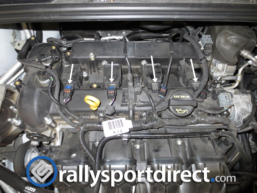 IMG_1033 changing your spark plugs by rallysport direct!! Trailer Wireing Harness Retainer Clips at bayanpartner.co