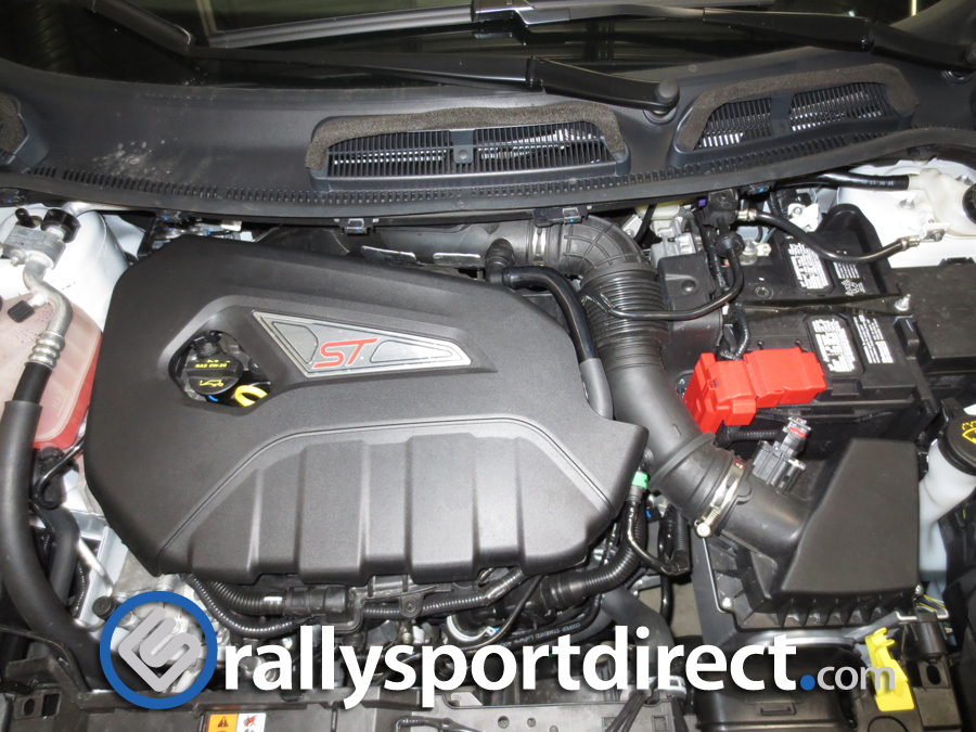 mountune induction hose installed by RallySport Direct!!